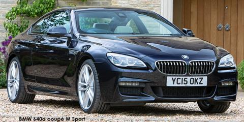 BMW 640d coupe Individual