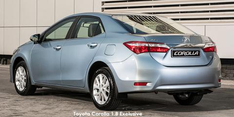Toyota Corolla 1.8 Exclusive auto