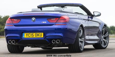 BMW M6 convertible Competition - Image credit: © 2018 duoporta. Generic Image shown.