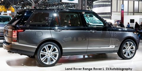 Land Rover Range Rover L Supercharged SVAutobiography