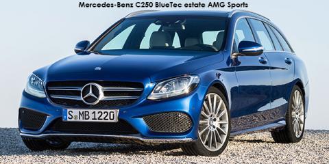 Mercedes-Benz C250d estate AMG Sports