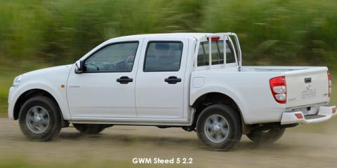 GWM Steed 5 2.2L double cab Lux safety