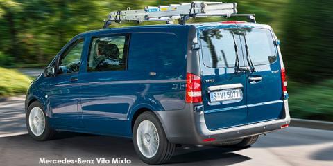 Mercedes-Benz Vito 116 CDI Mixto crewcab auto