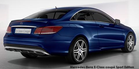Mercedes-Benz E250 coupe Sport Edition