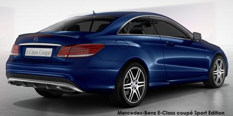 Mercedes-Benz E250CDI coupe Sport Edition