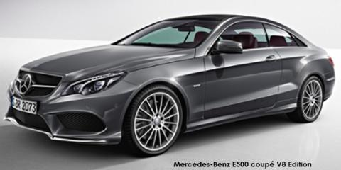 Mercedes-Benz E500 coupe V8 Edition