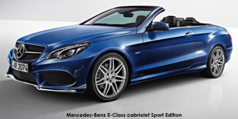 Mercedes-Benz E250 cabriolet Sport Edition