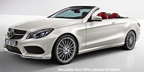Mercedes-Benz E500 cabriolet V8 Edition