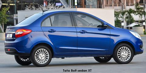 Tata Bolt sedan 1.2T XT - Image credit: © 2018 duoporta. Generic Image shown.