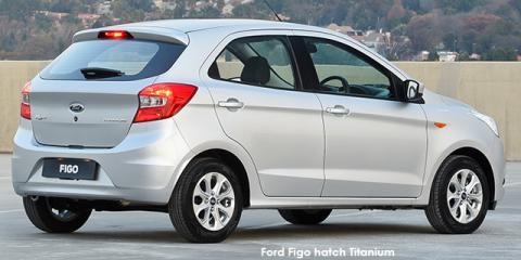 Ford Figo hatch 1.5 Titanium auto