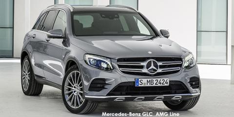 Mercedes-Benz GLC250d 4Matic AMG Line