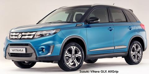 Suzuki Vitara 1.6 GLX auto - Image credit: © 2018 duoporta. Generic Image shown.