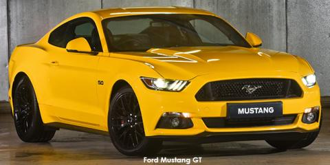 Ford Mustang 5.0 GT fastback auto - Image credit: © 2018 duoporta. Generic Image shown.