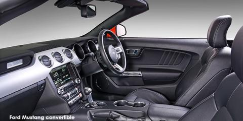 Ford Mustang 5.0 GT convertible auto - Image credit: © 2019 duoporta. Generic Image shown.