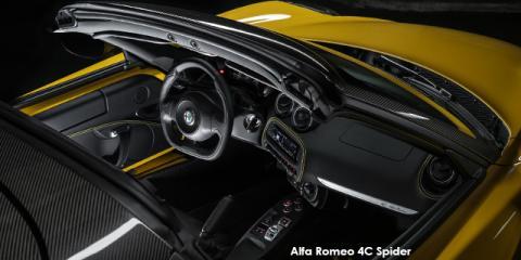 Alfa Romeo 4C Spider - Image credit: © 2018 duoporta. Generic Image shown.
