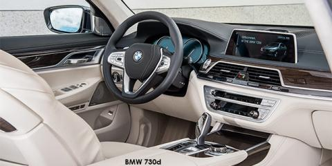 BMW 740i - Image credit: © 2019 duoporta. Generic Image shown.
