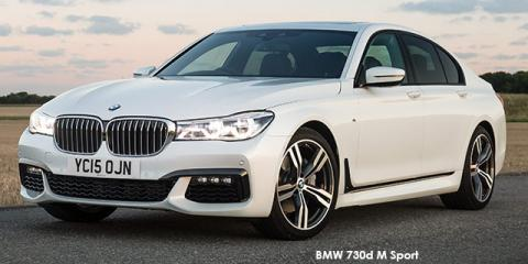 BMW 730d M Sport - Image credit: © 2019 duoporta. Generic Image shown.