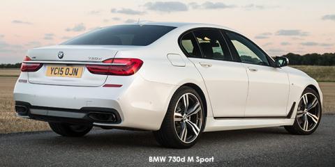 BMW 730d M Sport - Image credit: © 2018 duoporta. Generic Image shown.