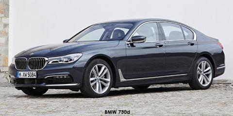 BMW 750i - Image credit: © 2019 duoporta. Generic Image shown.
