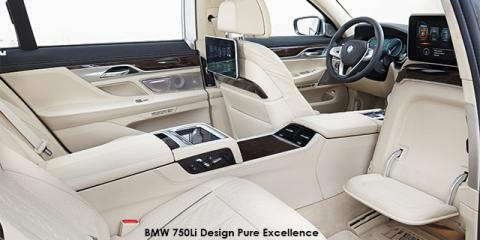 BMW 750i Design Pure Excellence - Image credit: © 2019 duoporta. Generic Image shown.