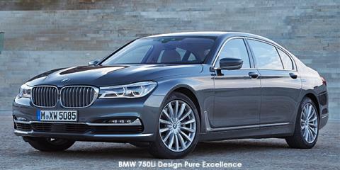BMW 750Li - Image credit: © 2019 duoporta. Generic Image shown.