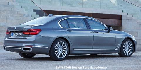 BMW 750Li - Image credit: © 2018 duoporta. Generic Image shown.