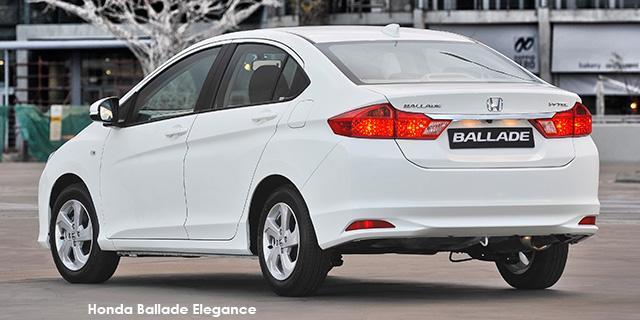 Honda Ballade 1.5 Elegance 4-Dr CVT