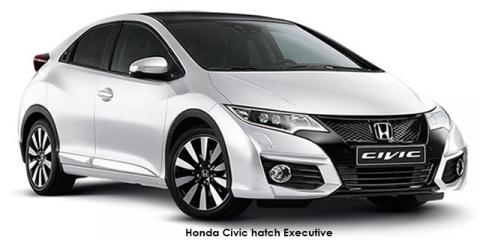 Honda Civic hatch 1.8 Executive auto