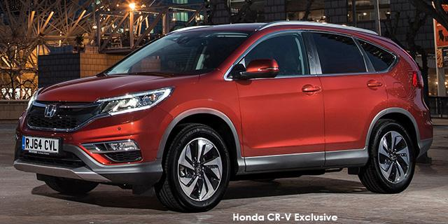 Honda CR-V 2.4 Executive AWD Auto