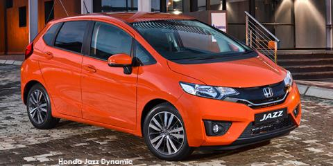 Honda Jazz 1.5 Elegance auto - Image credit: © 2019 duoporta. Generic Image shown.