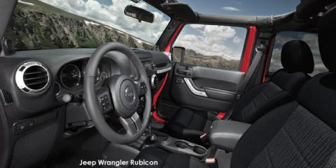 Jeep Wrangler 3.6L Rubicon - Image credit: © 2018 duoporta. Generic Image shown.