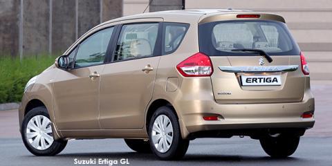 Suzuki Ertiga 1.4 GL auto - Image credit: © 2018 duoporta. Generic Image shown.