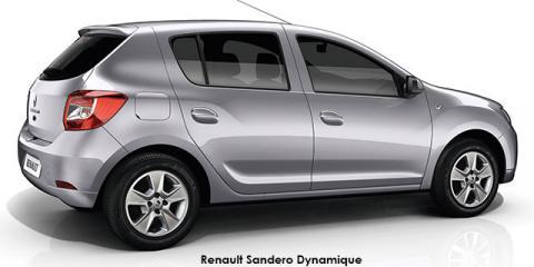 Renault Sandero 66kW turbo Dynamique