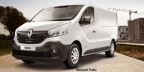 Renault Trafic 1.6dCi panel van - Image credit: © 2018 duoporta. Generic Image shown.