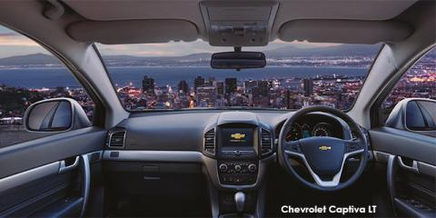 Chevrolet Captiva 2.4 LT auto