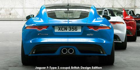 Jaguar F-Type S coupe British Design Edition
