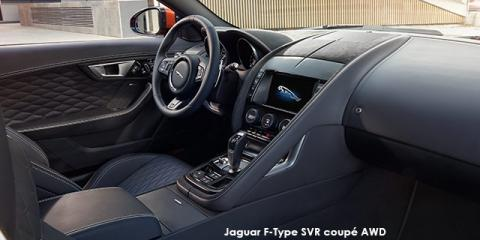 Jaguar F-Type SVR coupe AWD