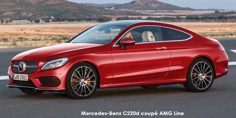 Mercedes-Benz C220d coupe AMG Line auto