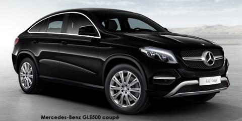Mercedes-Benz GLE500 coupe