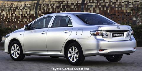 Toyota Corolla Quest 1.6 auto - Image credit: © 2018 duoporta. Generic Image shown.