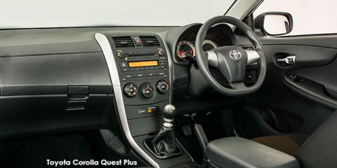 Toyota Corolla Quest 1.6 auto - Image credit: © 2018 duoporta. Generic Image shown.