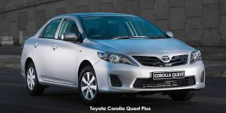 Toyota Corolla Quest - Image credit: © 2018 duoporta. Generic Image shown.
