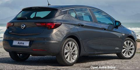 Opel Astra hatch 1.0T Enjoy - Image credit: © 2018 duoporta. Generic Image shown.
