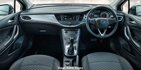 Opel Astra hatch 1.4T Enjoy - Image credit: © 2019 duoporta. Generic Image shown.