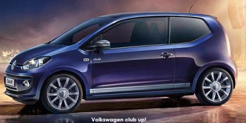 Volkswagen club up! 3-door 1.0