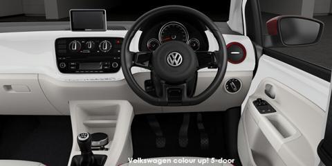Volkswagen colour up! 5-door 1.0
