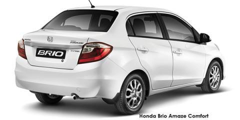 Honda Brio Amaze sedan 1.2 Comfort auto - Image credit: © 2018 duoporta. Generic Image shown.