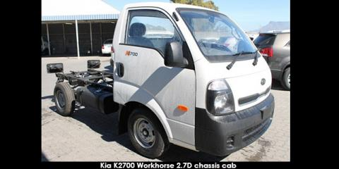 Kia K2700 2.7D workhorse chassis cab