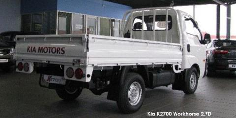 Kia K2700 2.7D workhorse dropside (aircon) - Image credit: © 2020 duoporta. Generic Image shown.