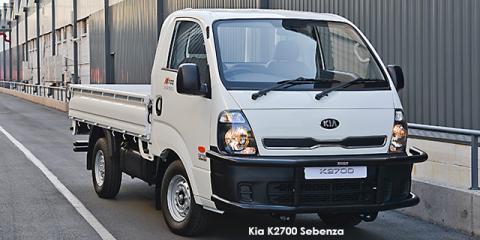 Kia K2700 2.7D workhorse dropside Sebenza